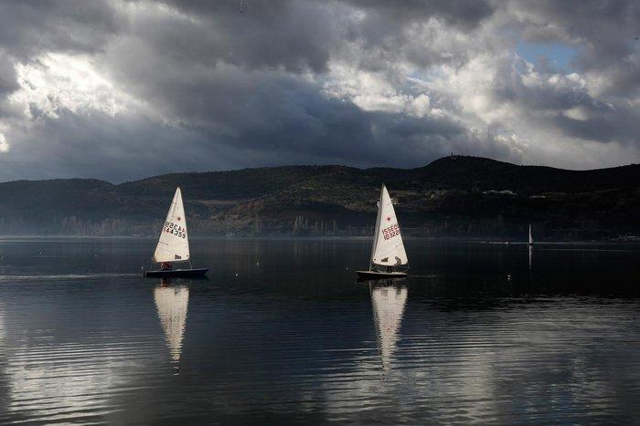 Μαγευτικές εικόνες από τη λίμνη της Καστοριάς - εικόνα 13