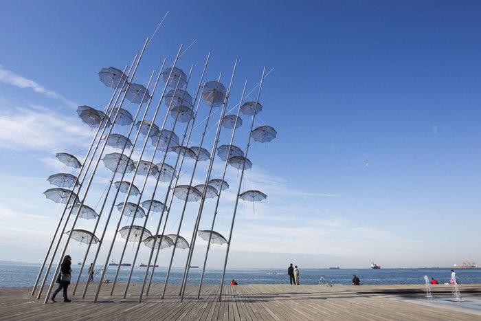 Η παραλία της Θεσσαλονίκης. Φωτο: Shutterstock