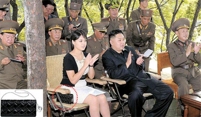 Η πανάκριβη τσάντα της συζύγου του Κιμ Γιονγκ Ουν