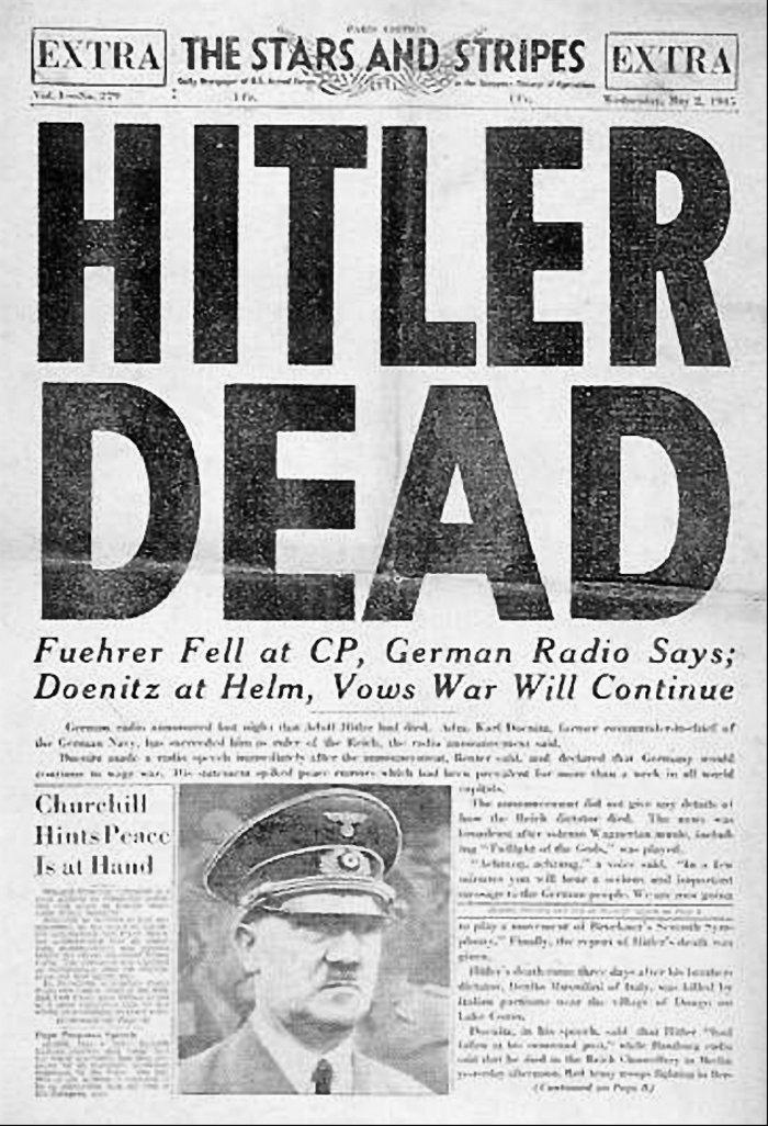 Ο Χίτλερ δεν αυτοκτόνησε, αλλά διέφυγε μέσω Ελλάδας! - εικόνα 2