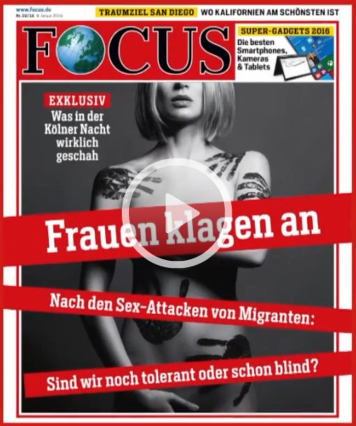 Γερμανία: Οργή για τα ρατσιστικά εξώφυλλα κατά των επιθέσεων στην Κολωνία