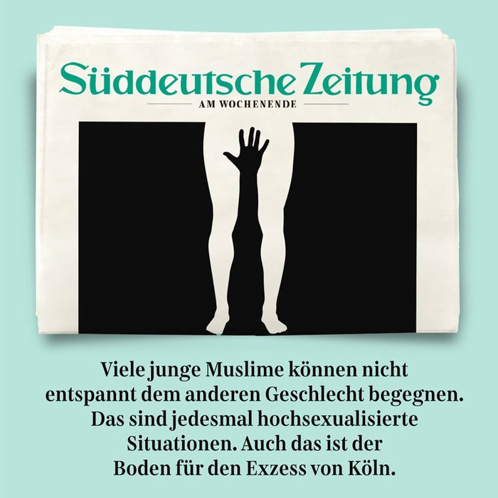 Γερμανία: Οργή για τα ρατσιστικά εξώφυλλα κατά των επιθέσεων στην Κολωνία - εικόνα 2