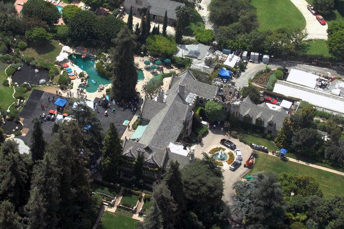Πωλείται η βίλα του «βασιλιά» του Playboy Χιού Χέφνερ στο Λος Άντζελες - εικόνα 5