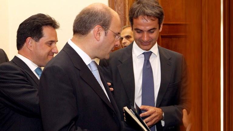 Aδωνις και Χατζηδάκης οι δυο νέοι αντιπρόεδροι της ΝΔ
