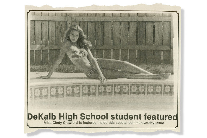 Σίντι Κρόφορντ: Πώς αυτή η φωτογραφία στα 16 μου, άλλαξε τη ζωή μου