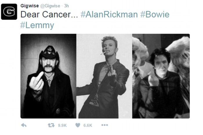 F*** Cancer: Η φωτογραφία που έγραψε ιστορία στο twitter - εικόνα 4