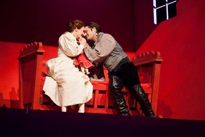 Gilda στο Rigoletto του Βέρντι στο Maggio Musicale Fiorentino με τον Zubin Mehta και Arturo Cachon CruzDecember 2015