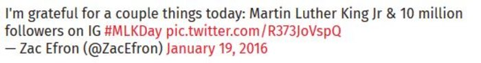 Το «ασεβές» tweet ηθοποιού για τον Μάρτιν Λούθερ Κινγκ που προκάλεσε οργή