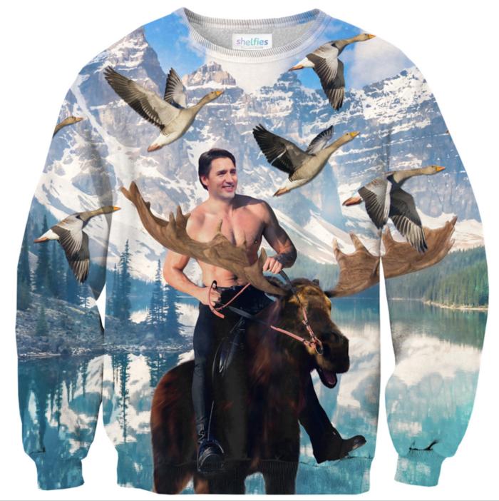 Γιατί τα εκθαμβωτικά πουλόβερ με τον Τζάστιν Τριντό γίνονται ανάρπαστα - εικόνα 2