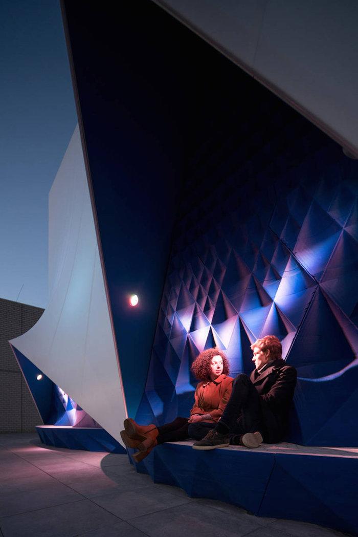 Ένα πανέμορφο 3D κτίριο από υλικά ανακύκλωσης - εικόνα 5