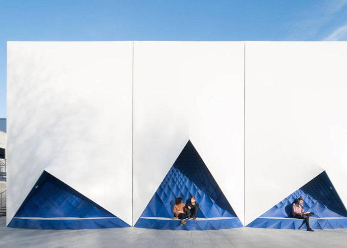 Ένα πανέμορφο 3D κτίριο από υλικά ανακύκλωσης - εικόνα 6