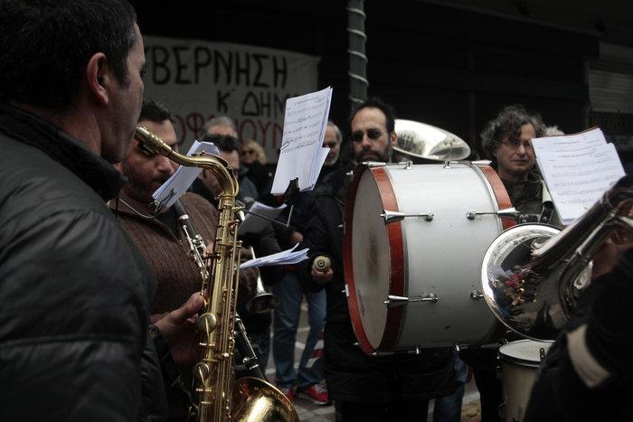 Πορεία μετά μουσικής καλλιτεχνών για το ασφαλιστικό - εικόνα 5