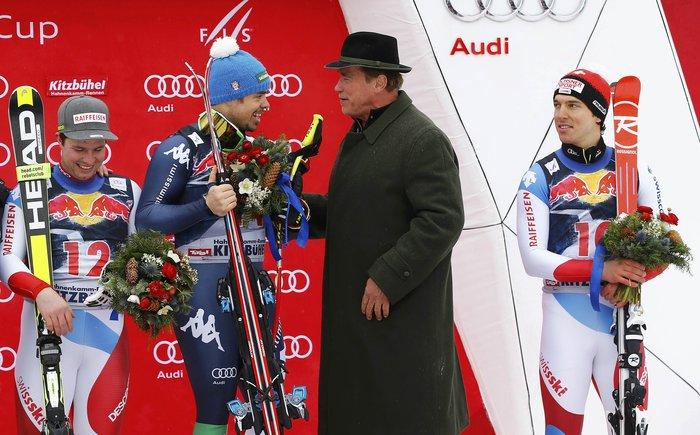O Άρνι στο Παγκόσμιο Πρωτάθλημα Σκι με διάσημους φίλους [ΕΙΚΟΝΕΣ] - εικόνα 6