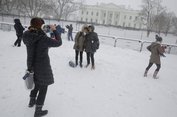 Ο «Snowzilla» χτύπησε την Ουάσιγκτον:Ιδού το αποτέλεσμα - εικόνα 3