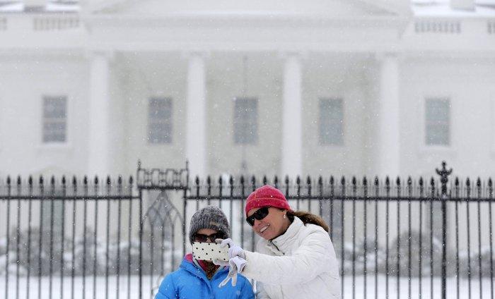 Ο «Snowzilla» χτύπησε την Ουάσιγκτον:Ιδού το αποτέλεσμα - εικόνα 2