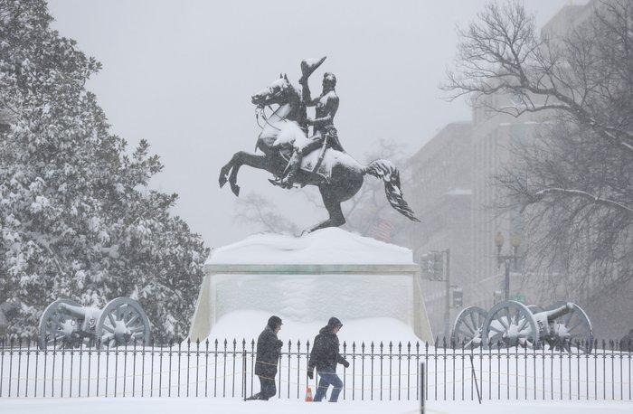 Ο «Snowzilla» χτύπησε την Ουάσιγκτον:Ιδού το αποτέλεσμα - εικόνα 4