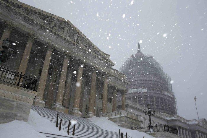 Ο «Snowzilla» χτύπησε την Ουάσιγκτον:Ιδού το αποτέλεσμα - εικόνα 5
