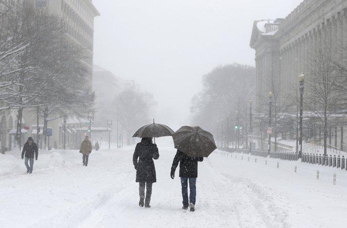Ο «Snowzilla» χτύπησε την Ουάσιγκτον:Ιδού το αποτέλεσμα - εικόνα 8