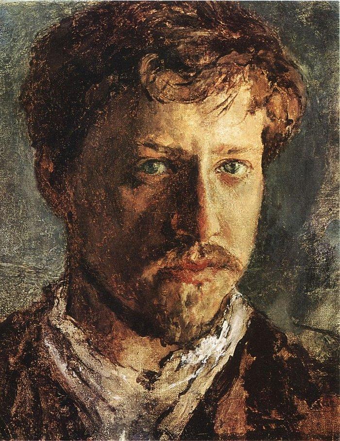 Βαλεντίν Σερόφ, αυτοπροσωπογραφία