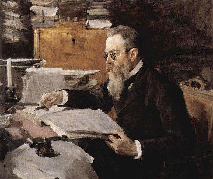 Πορτρέτο του Nikolai Andreyevich Rimsky-Korsakov
