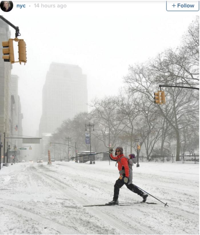 Σκι μέσα στην πόλη της Νέας Υόρκης; Κι όμως γίνεται! - εικόνα 2