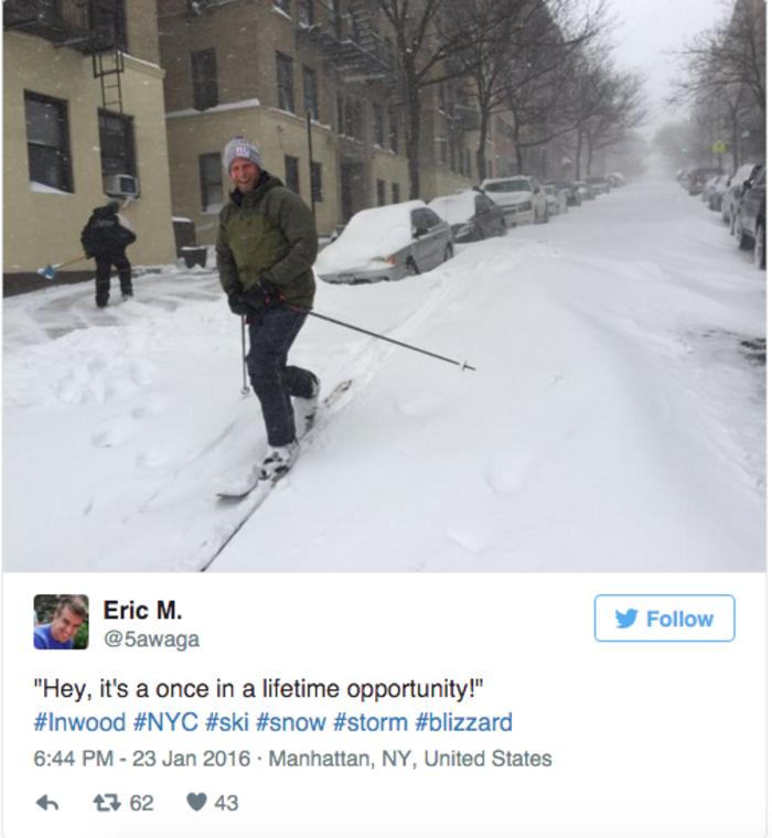 Σκι μέσα στην πόλη της Νέας Υόρκης; Κι όμως γίνεται! - εικόνα 3