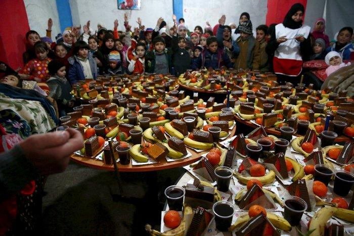 Πάρτι αγάπης για τα παιδιά του πολέμου στη Συρία