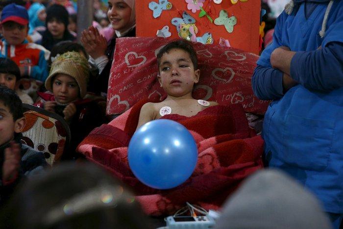 Πάρτι αγάπης για τα παιδιά του πολέμου στη Συρία - εικόνα 3
