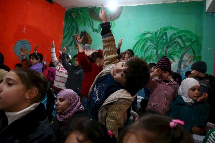 Πάρτι αγάπης για τα παιδιά του πολέμου στη Συρία - εικόνα 5