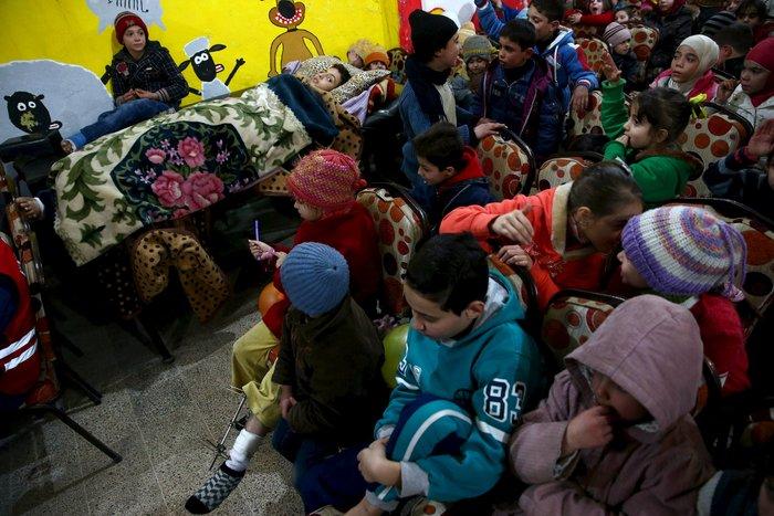 Πάρτι αγάπης για τα παιδιά του πολέμου στη Συρία - εικόνα 6