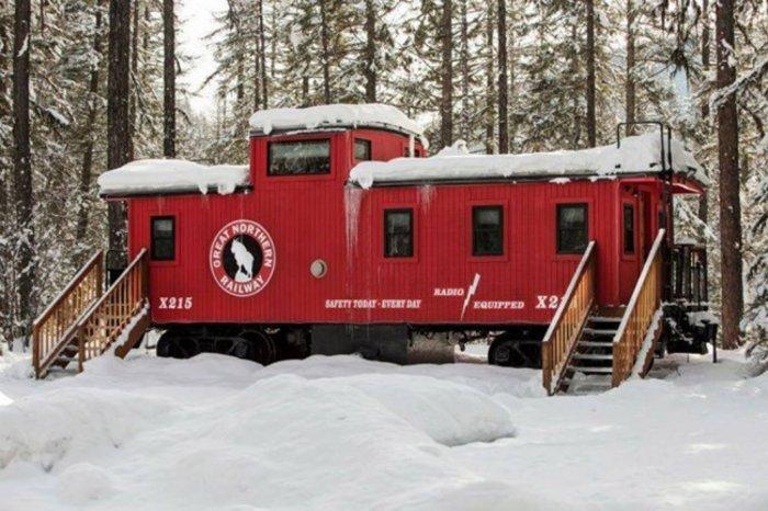 Μοντάνα - ΗΠΑ: Το τρένο αντίκα που έγινε ξενοδοχείο [ΕΙΚΟΝΕΣ]