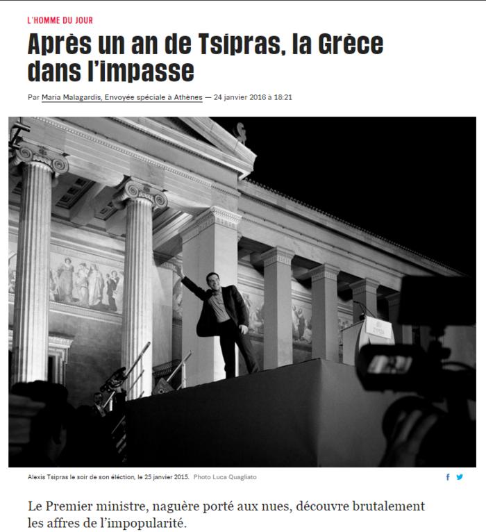 Liberation: Το κερί που έσβησε ο Τσίπρας μοιάζει με δυναμίτη