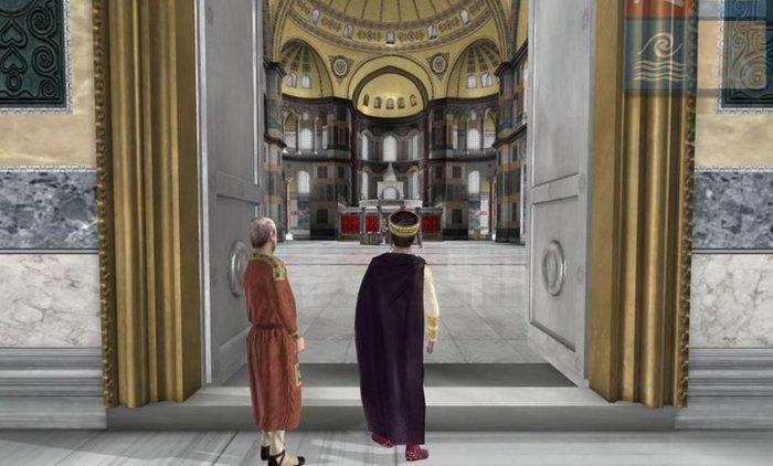Virtual ξενάγηση στην Αγία Σοφία από τον Ελληνικό Κόσμο