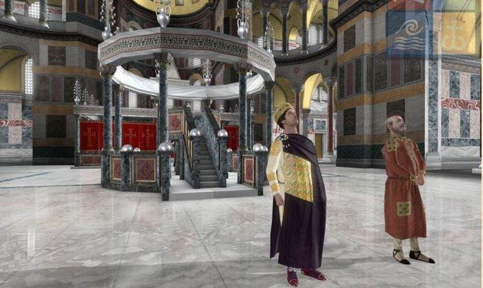 Virtual ξενάγηση στην Αγία Σοφία από τον Ελληνικό Κόσμο - εικόνα 2