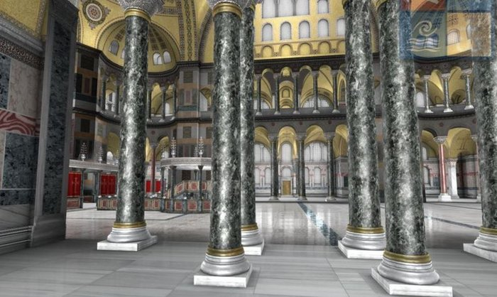 Virtual ξενάγηση στην Αγία Σοφία από τον Ελληνικό Κόσμο - εικόνα 4