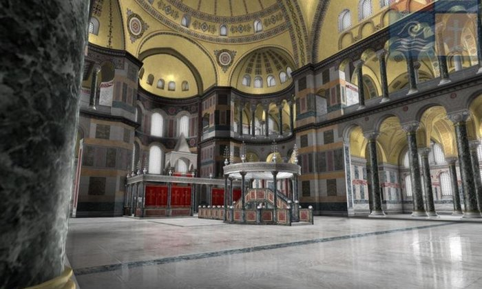 Virtual ξενάγηση στην Αγία Σοφία από τον Ελληνικό Κόσμο - εικόνα 5