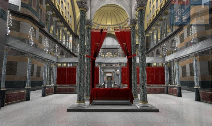 Virtual ξενάγηση στην Αγία Σοφία από τον Ελληνικό Κόσμο - εικόνα 7