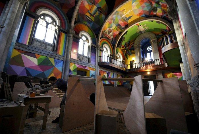 Ισπανία: Μια εκκλησία αποκλειστικά για... skaters