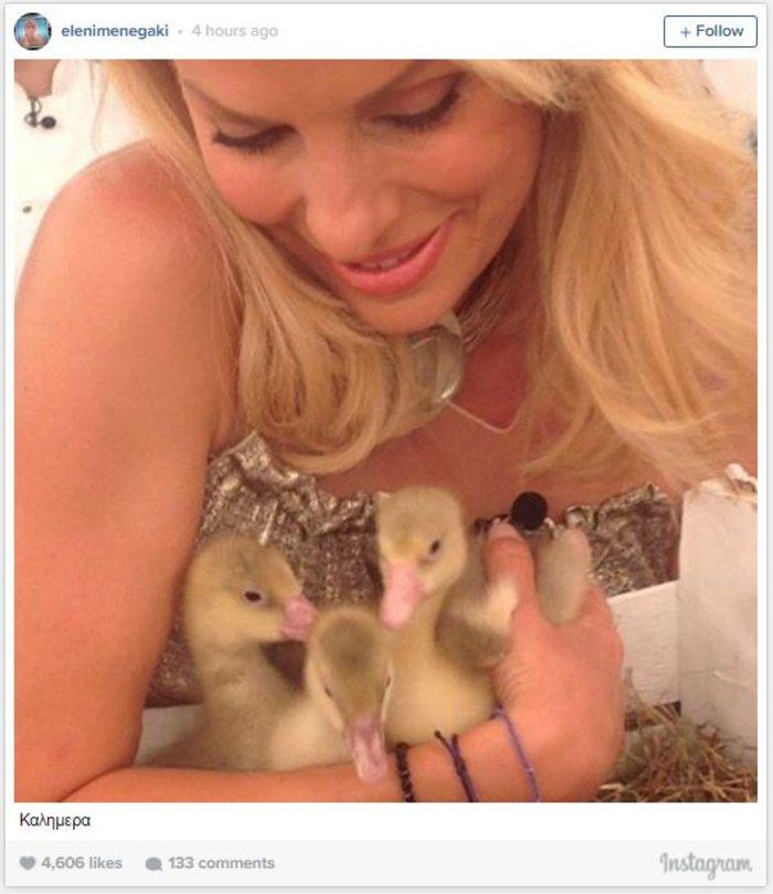 Η τρυφερή φωτό της μαμάς Ελένης Μενεγάκη «έριξε» το instagram