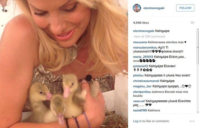 Η τρυφερή φωτό της μαμάς Ελένης Μενεγάκη «έριξε» το instagram - εικόνα 2