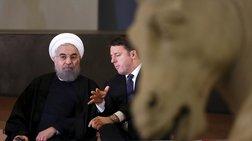 Κάλυψαν τα γυμνά αγάλματα για χάρη του Ιρανού προέδρου