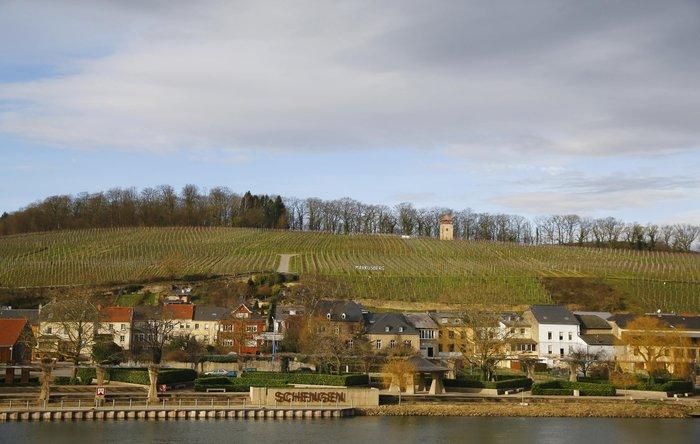 H μικρή πόλη Σέγκεν στο Λουξεμβούργου