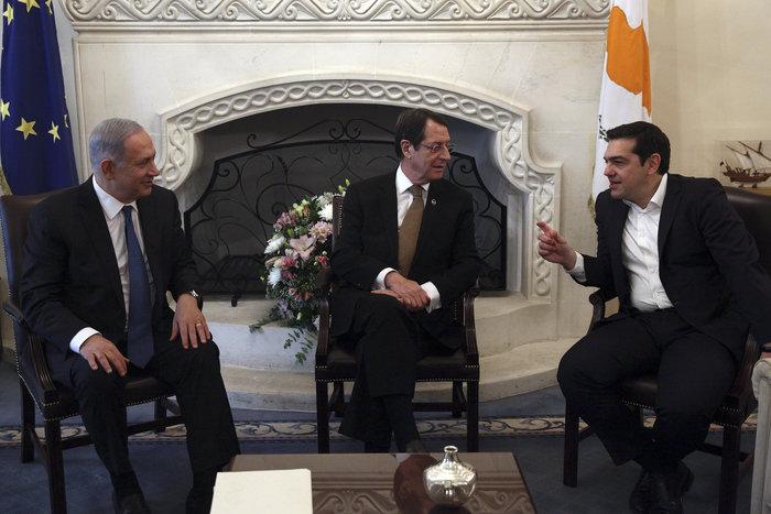 Κοινό αγωγό συζητούν Τσίπρας- Νετανιάχου- Αναστασιάδης - εικόνα 3
