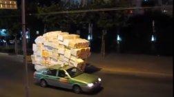 Έτσι κάνουν delivery στην Σανγκάη
