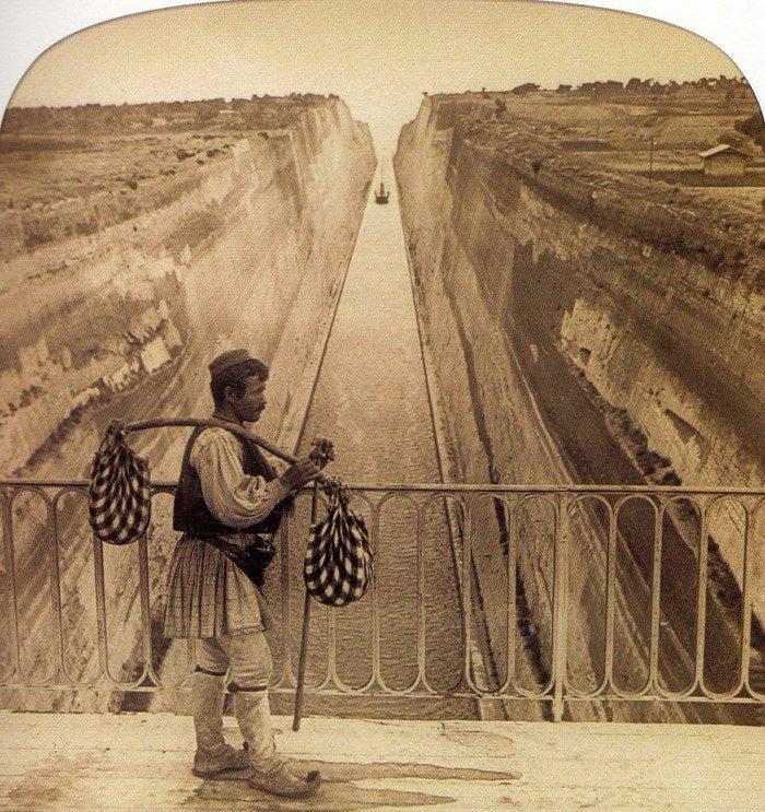 Σπάνιες φωτογραφίες από τη διάνοιξη της διώρυγας της Κορίνθου - εικόνα 7