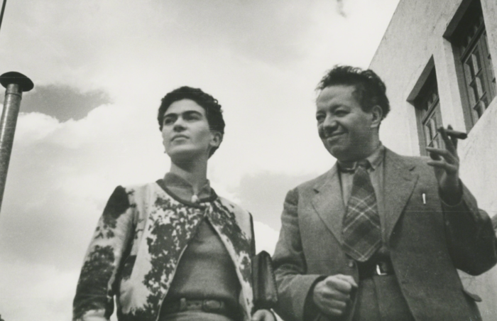 Leo Matiz, 'Frida and Diego, Mexico,' 1935, Bentley Gallery