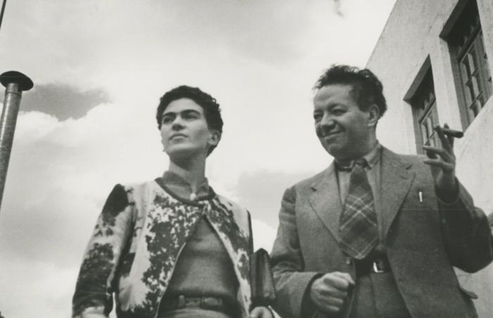 Leo Matiz, 'Frida and Diego, Mexico,' 1935, Bentley Gallery