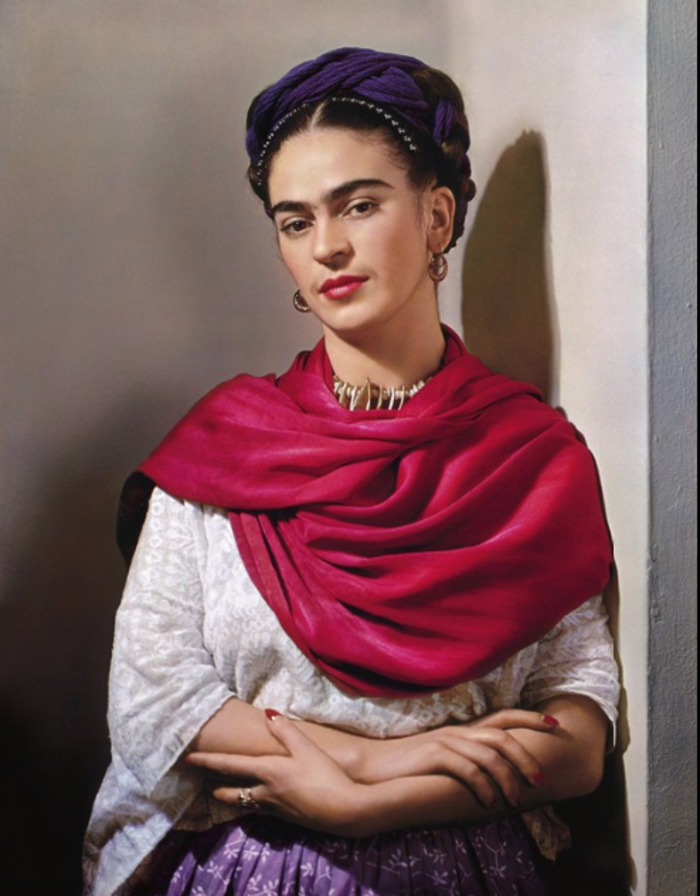 Nickolas MurayFrida with Magenta Rebozo, 1939Bentley Gallery