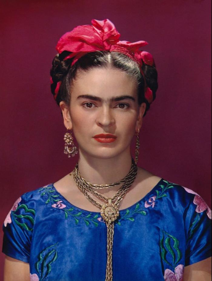 Nickolas Muray, 'Frida Kahlo in Blue Blouse,' 1939, Bentley Gallery