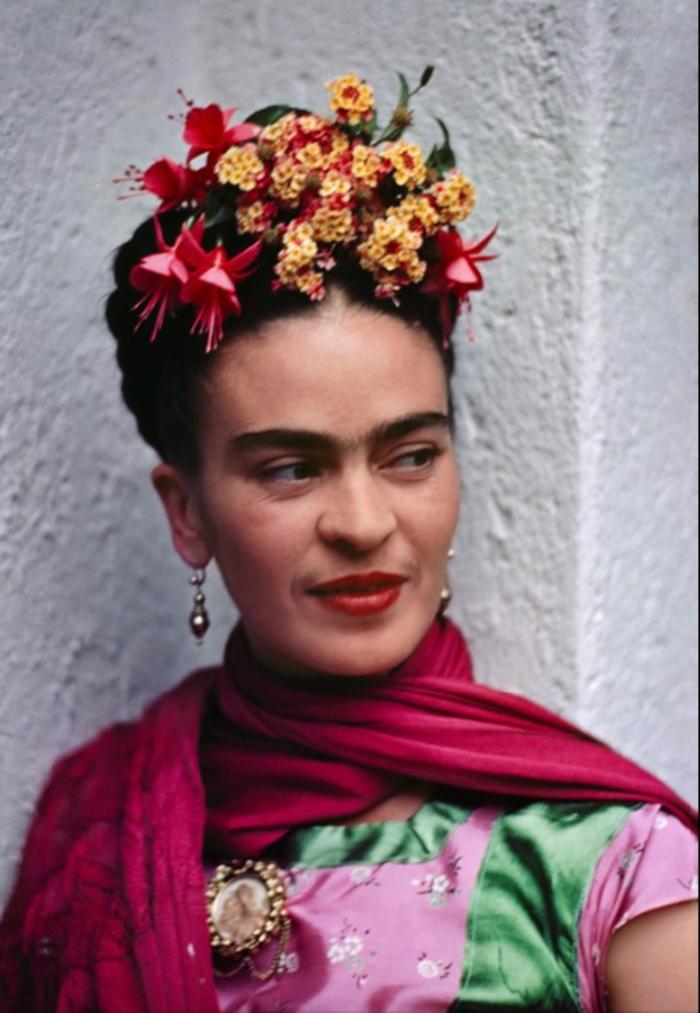 Nickolas Muray, 'Frida, Pink/Green Blouse, Coyoacon,' 1938, Bentley Gallery